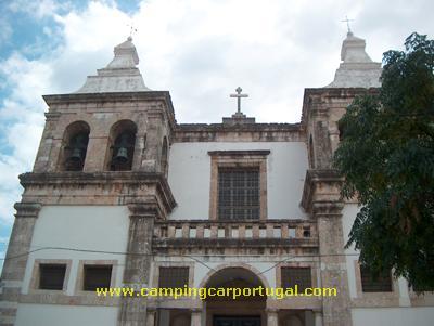 Igreja de Santa Maria da Graça, o coração do primitivo burgo medieval. Aqui nasceu Setúbal.