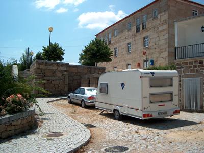 """Marialva – Estacionamento """"VIP"""" para caravanas"""