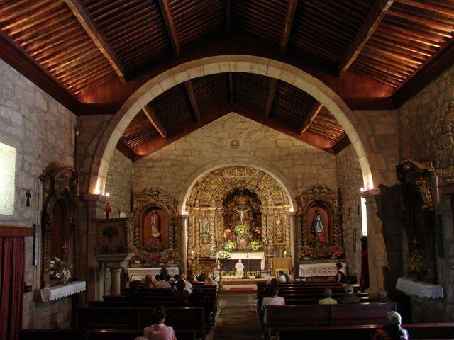 Freixo de Numão – Interior da Igreja