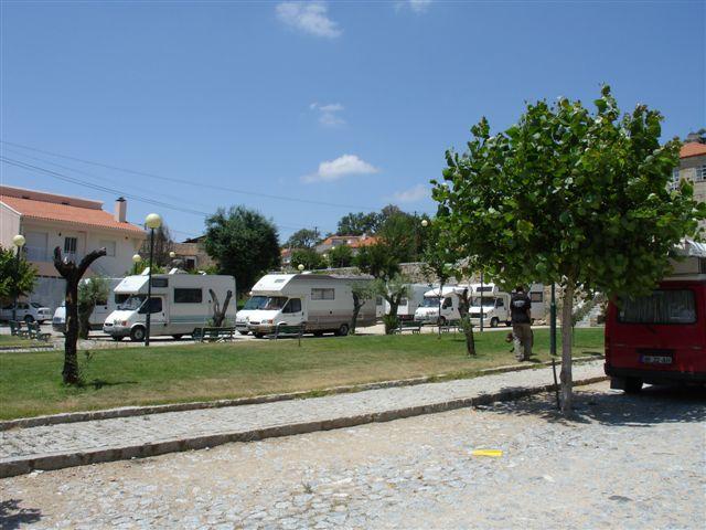Marialva – Local de parqueamento e almoço