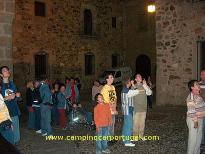 Cáceres – Visita nocturna à cidade
