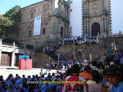 Cáceres – Festa dos escuteiros na Praça de São Jorge