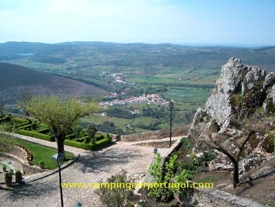 Vista sobre a vila da Portagem