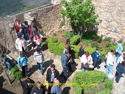 A visita ao castelo