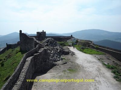 Interior do castelo de Marvão