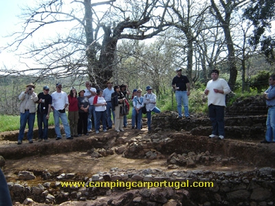 Visita guiada à cidade romana da Ammaia