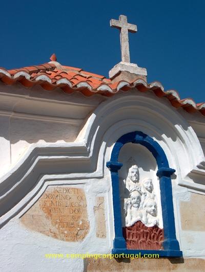 Pormenor da Capela da Senhoras das Dores, do século XVIII