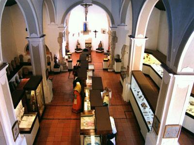 Neste museu podemos admirar colecções de Arte Sacra, Arqueologia e Etnografia