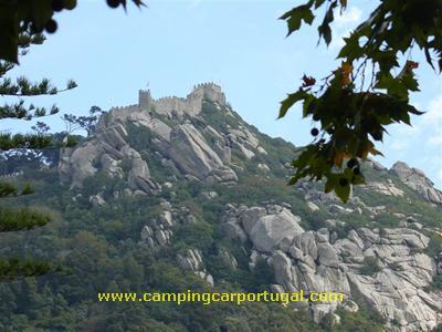 O sempre presente Castelo dos Mouros, conquistado por D.Afonso Henriques em 1147