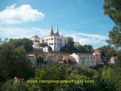 A manhã de Domingo foi inteiramente dedicada ao bonito Palácio da Vila de Sintra