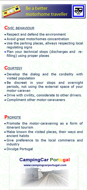 CampingCar Portugal brochure – back